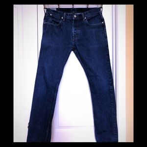 Wallace & Barnes Jeans Selvedge Button Fly 32x32